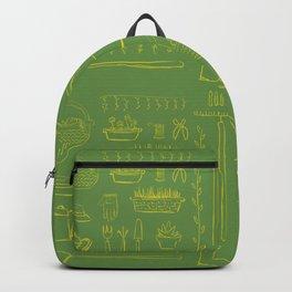 Gardening and Farming! - illustration pattern Backpack