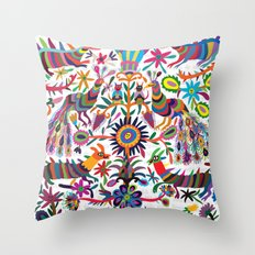 Mexicanitos al grito - Tenangis Throw Pillow