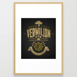 Vermilion Gym Framed Art Print