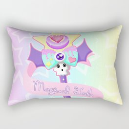 Magical Goth Rectangular Pillow