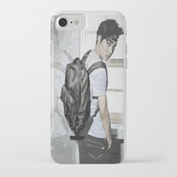 exo iPhone & iPod Cases featuring Kai EXO by Axel Senpai
