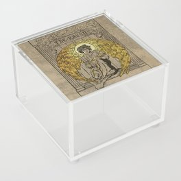 The Raven. 1884 edition cover Acrylic Box