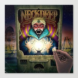 neck deep wishful thinking Canvas Print