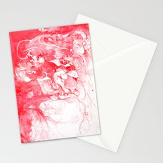Love Is Red Stationery Cards