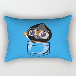 Ninja Pepe! Rectangular Pillow