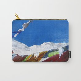 Tibetan laundry Carry-All Pouch