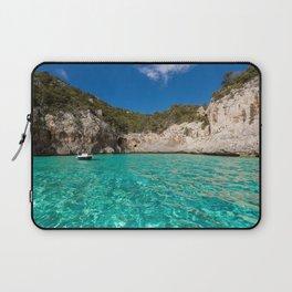 blue lagoon paradise Laptop Sleeve