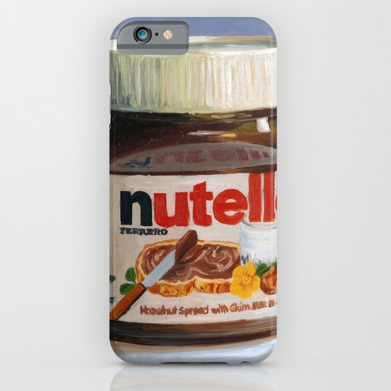 Nutella Oil Painting iPhone & iPod Case