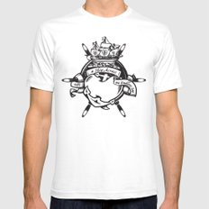 Endless Sea Mens Fitted Tee SMALL White