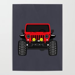 Overland Rubicon Poster