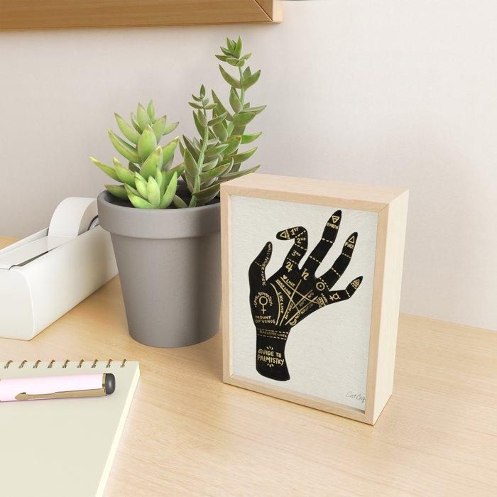 Palmistry Framed Mini Art Print