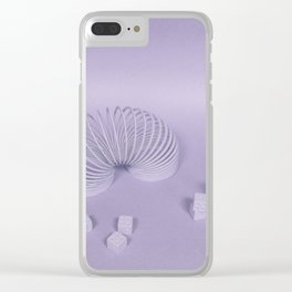 Child's Play - Purple Clear iPhone Case