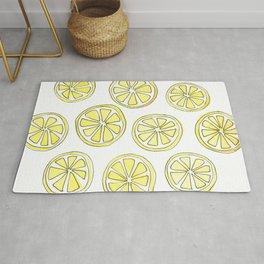 Lemon Slices Rug