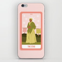 Tarot Card XVII: The Star iPhone Skin