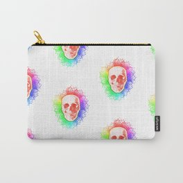 Skulls Rainbow Colorful life Carry-All Pouch