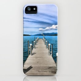 Stepping to the Sea iPhone Case
