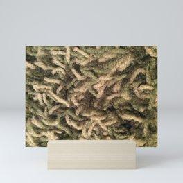 Green shag Mini Art Print
