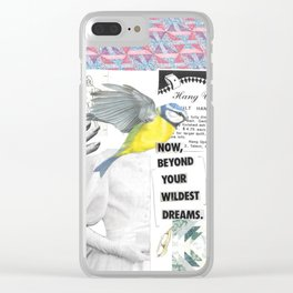 Now, Beyond Your Wildest Dreams. Clear iPhone Case
