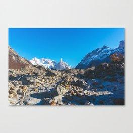 Hiking to Laguna Torre, Patagonia, Argentina 2 Canvas Print