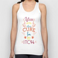 the cure Tank Tops featuring The Cure by Rendra Sy