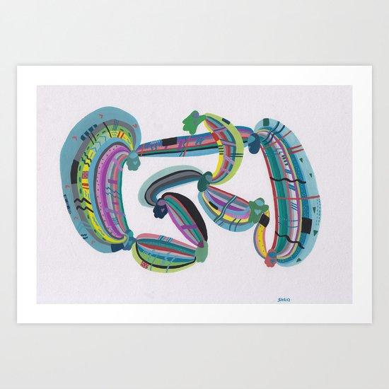 Transmission(s) Art Print