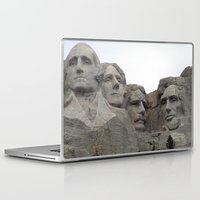 rushmore Laptop & iPad Skins featuring Mount Rushmore National Park by Joanne Salazar