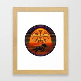 Highlander Framed Art Print