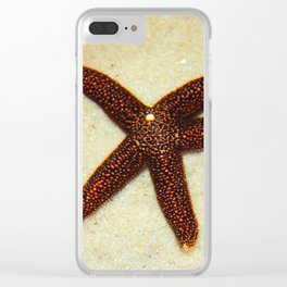 Sea Star Clear iPhone Case