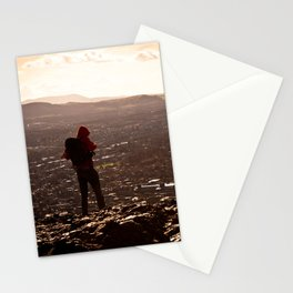 the hiker III. Stationery Cards