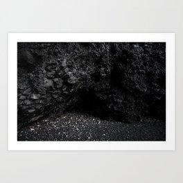 Reynisfjara Black Sand Beach Vik Iceland Art Print