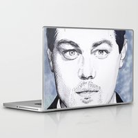 leonardo Laptop & iPad Skins featuring Leonardo DiCaprio by beecharly