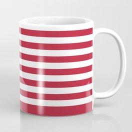 USA flag - Hi Def Authentic color & scale image Coffee Mug