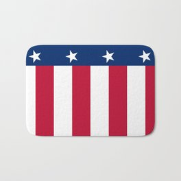 State flag of Texas, banner version Bath Mat