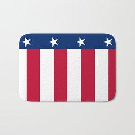 State flag of Texas, banner version Bath Mat