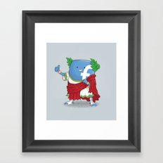The Caesar and 42000 more Romans in the circus like this Framed Art Print