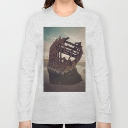 Shipwrecked - The Peter Iredale Long Sleeve T-shirt