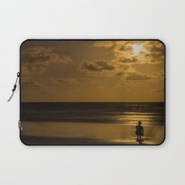 I see the moon Laptop Sleeve