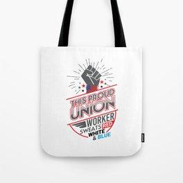 Labor Union of America Pro Union Worker Protest Light Tote Bag