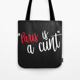 paris is my friend Tote Bag