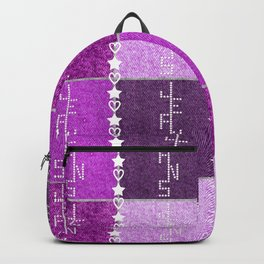 Fuchsia Jeans V1 Backpack
