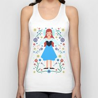 ariel Tank Tops featuring Ariel by Carly Watts