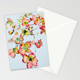 shiney petals Stationery Cards