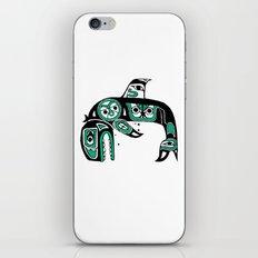 Native American Orca iPhone & iPod Skin