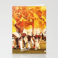 colombia Stationery Cards featuring Colombia Celebrating by Max Hopmans / FootWalls