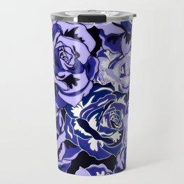 Beautiful Violet Roses Travel Mug