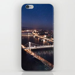 NIGHT TIME IN BUDAPEST iPhone Skin