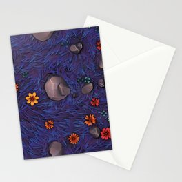 Magic forest ground Stationery Cards