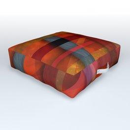 Abstract #466 Outdoor Floor Cushion