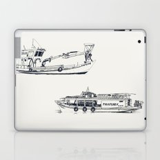 On paper: Capote y Picaflor Laptop & iPad Skin