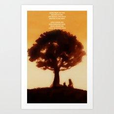 Iroh's tale Art Print